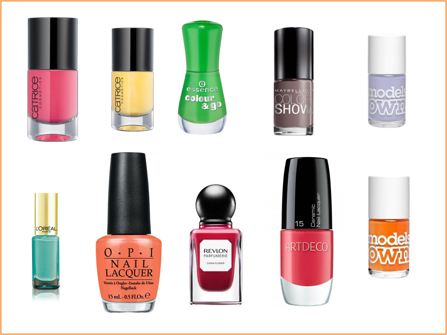 The Best Nail Polish Colors for Summer 2019 - Summer ...