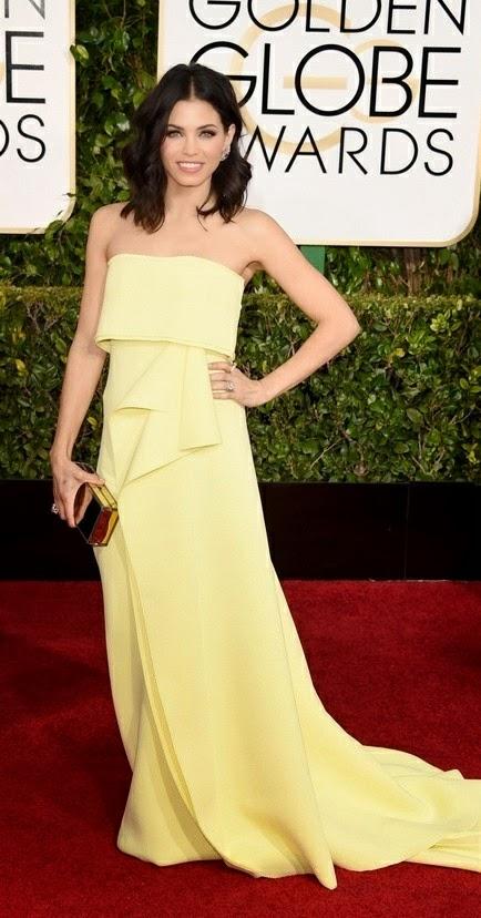 Jenna Dewan Tatum best dressed at Golden Globe Awards 2015