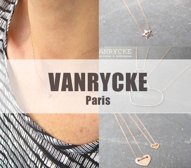 Bijoux Vanrycke Paris or rose