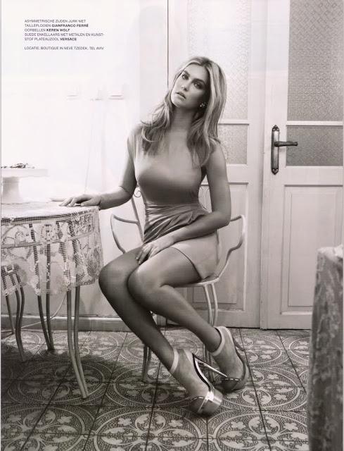 Regina Deutinger sexy in dress