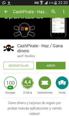 Cashpirate app android