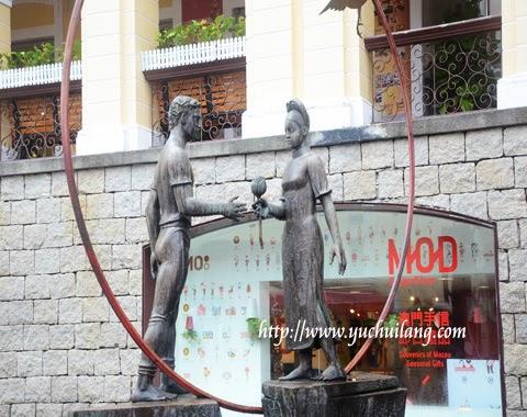 Patung Gansa Macau