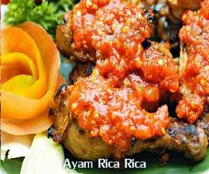 Resep dan Cara Membuat Ayam Rica Rica