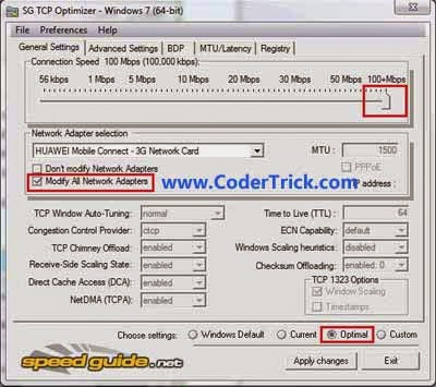 How to use TCP Optimizer to Optimize Internet Connection[Airtel,Idea,Vodafone]