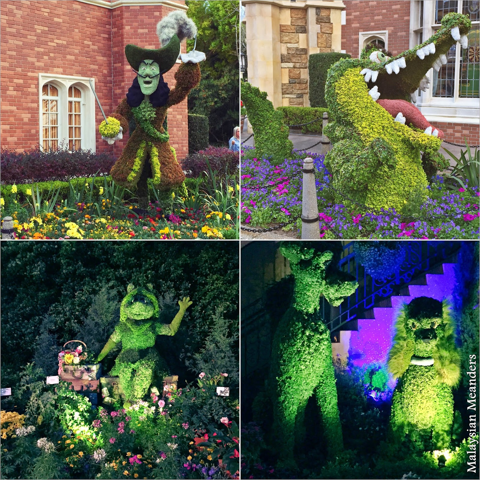 topiary, DisneyWorld