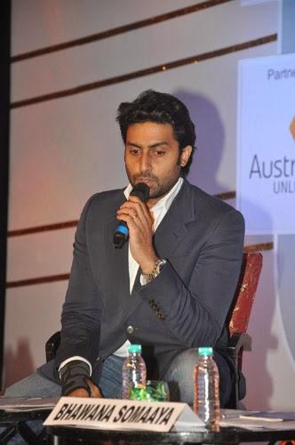 Abhishek Bachchan and Vijay Krishna at FICCI Frames 2014 Event Gallery