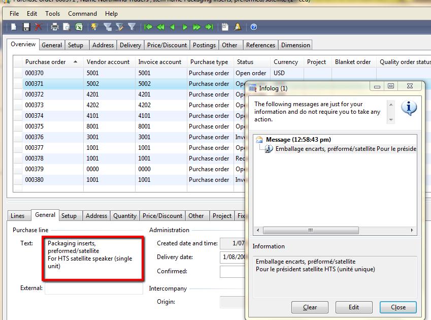 Dynamics NAVAX: Online (Bing) translator for AX using a shortcut key