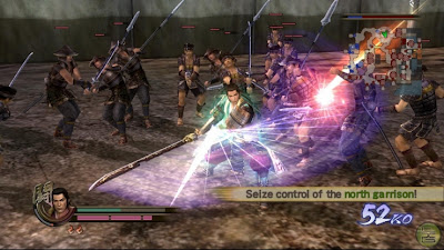 Samurai Warriors Screenshot