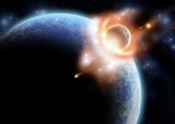 nibiru, crash, nabrak,  orbit, bumi