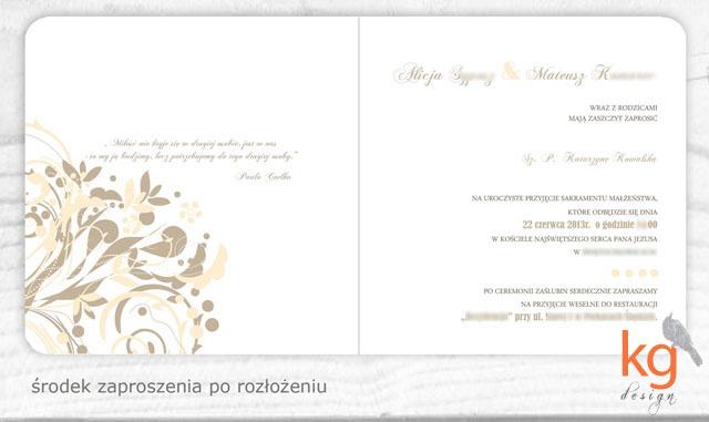 ornamentowa elegancja, klasyczne zaproszenie ślubne, oryginalne zaproszenie na ślub, nietypowe zaproszenia, delikatne, stonowane, beż, brąz, ecru, ecri, RSVP, mapka dojazdu, kwadratowe zaproszenie skłądane, zaokrąglone rogi, artystyczne zaproszenia na ślub cywilny, zawiadomienie na ślub, zawiadomienie o ślubie, proste zaproszenie, prostota, dodatkowe wkładki, piaskowy, pastelowe, oryginalne, nietypowe, artystyczne, ręcznie robione, projekt indywidualny zaproszeń