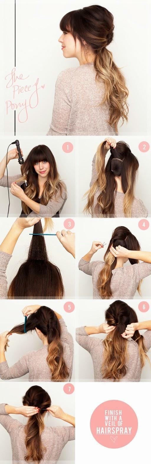 Причёски на средние волосы без челки в домашних условиях