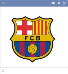 Barcelona  Chat Emoticon Facebook