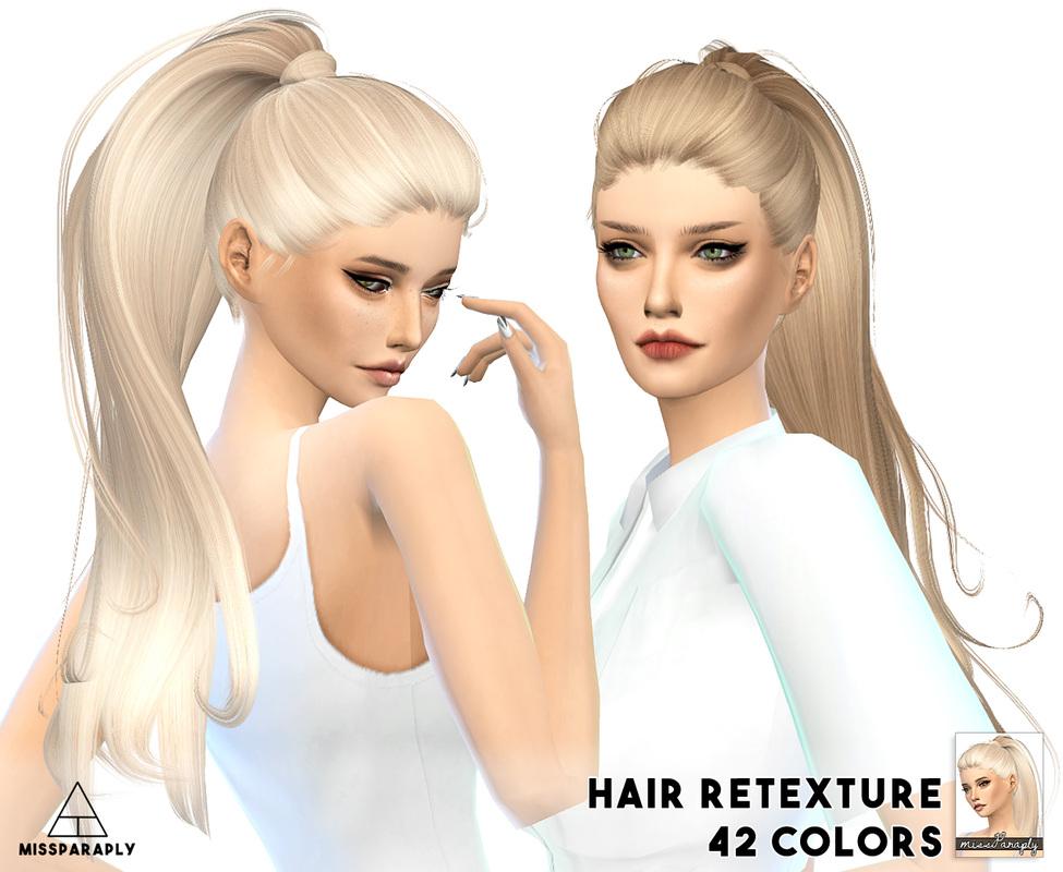 Ropa y peinados sims 4