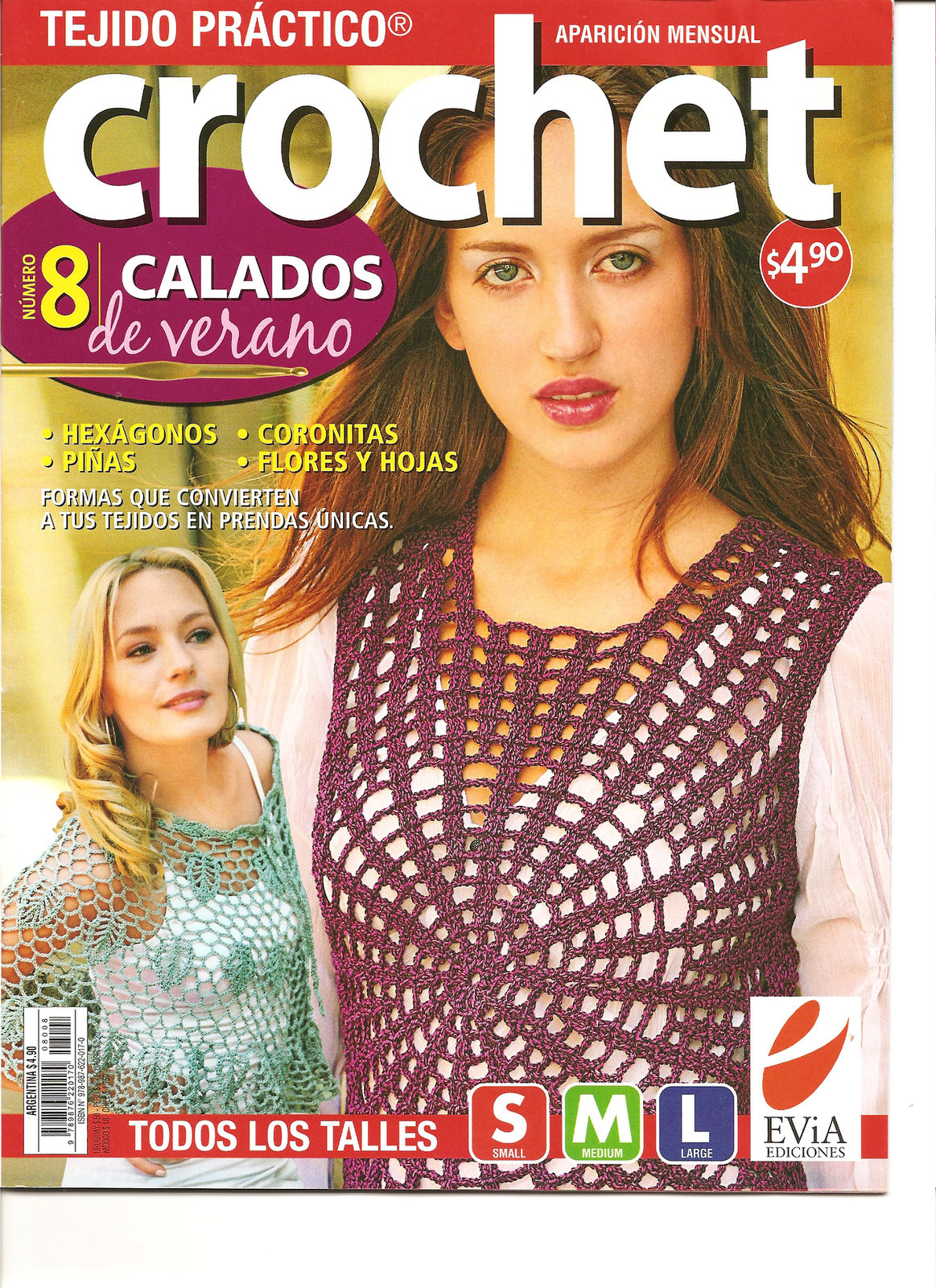 Revista: Crochet Calados - 8
