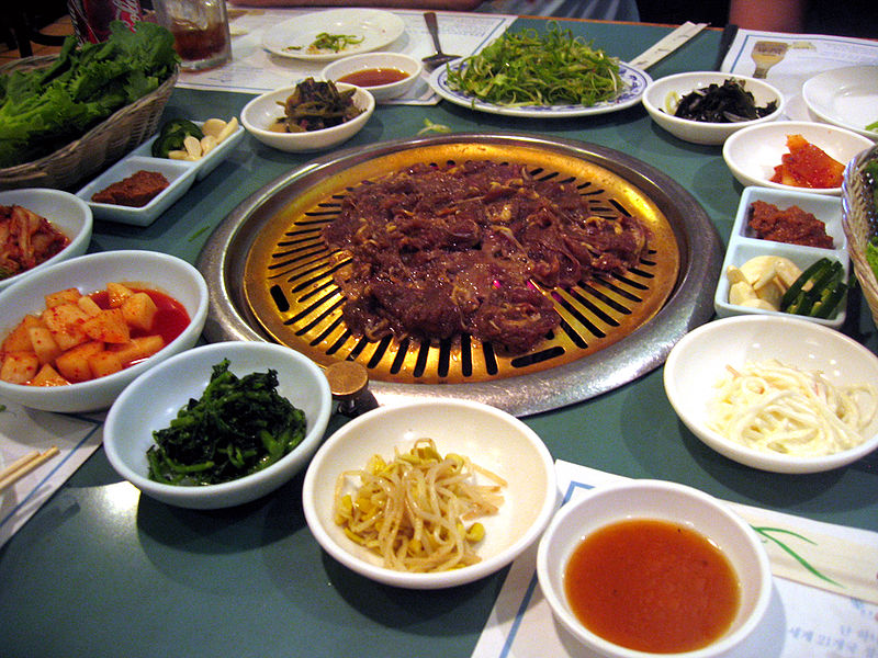korean cuisine is largely based on rice noodles tofu in korean dubu ...