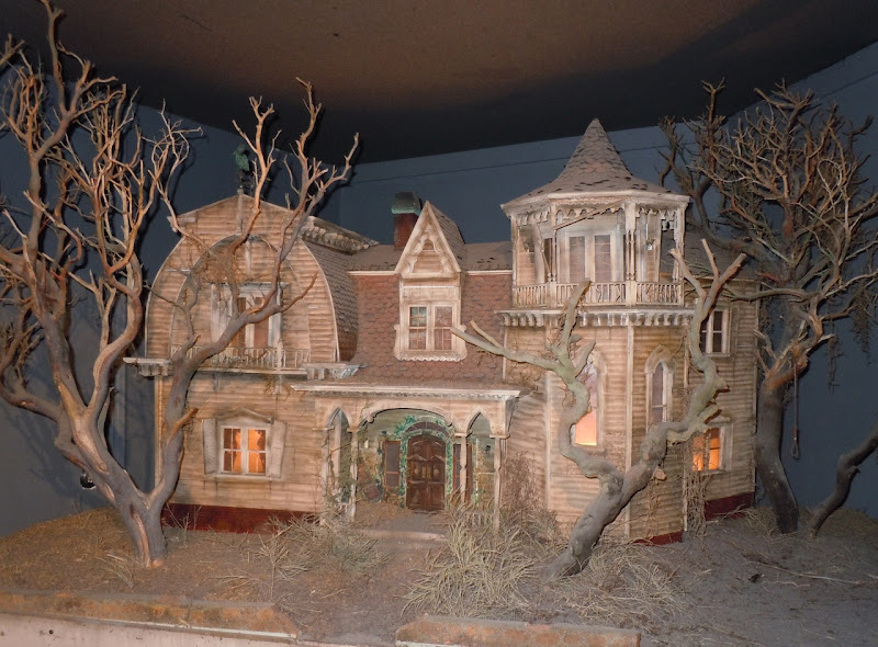 The Munsters house TV production model
