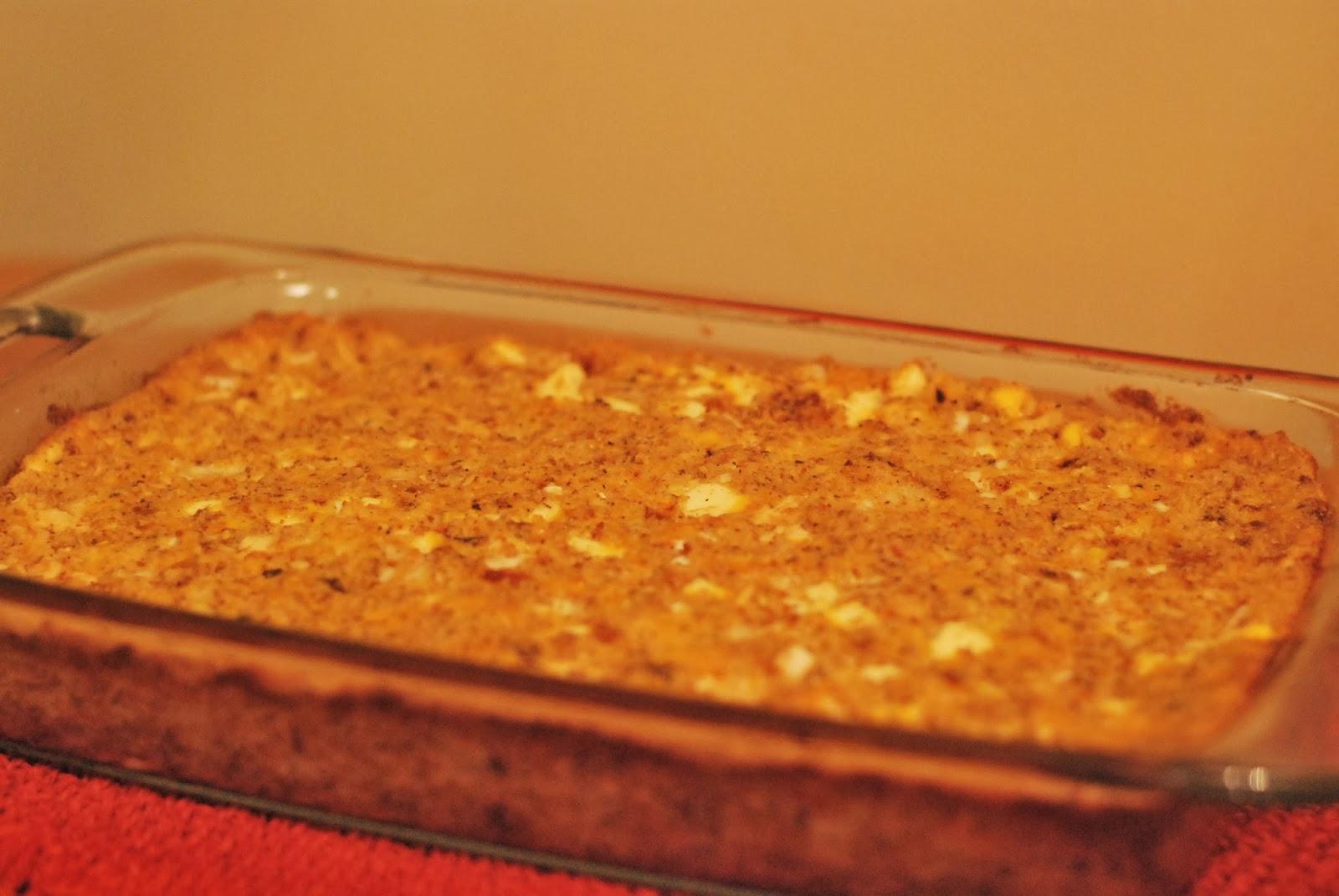 Jiffy Cornbread Chicken & Dressing Casserole~ - Aunt Bee's Recipes