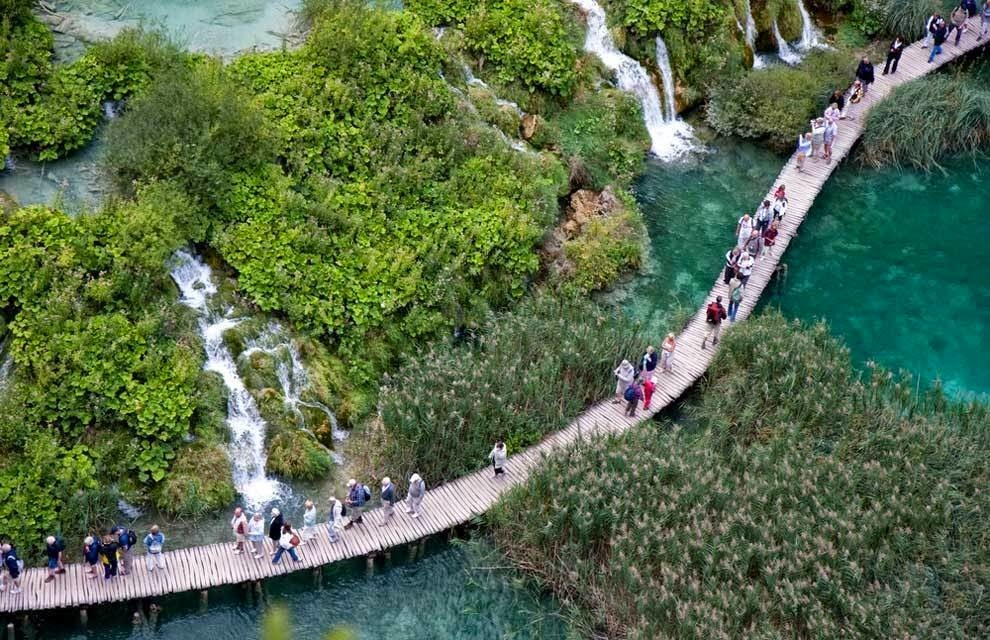 There are also magnificent trails cut through the park at different heights, so that visitors can get spectacular views of all that Plitvice has to offer. - You'd Never Want To Visit This Croatian National Park… It's A Bit Too Beautiful.