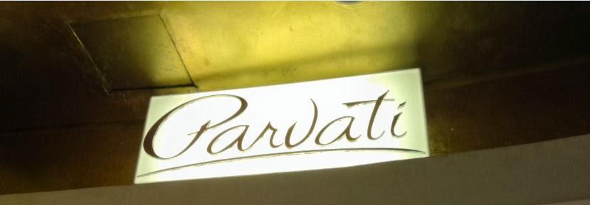 Parvati logo sign