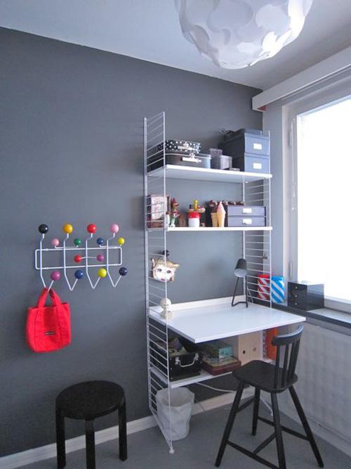 Te lo decoro todo habitaci n infantil en gris for Cuarto azul con gris