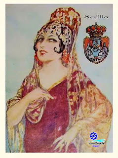 Traje típico de Sevilla - Amatller