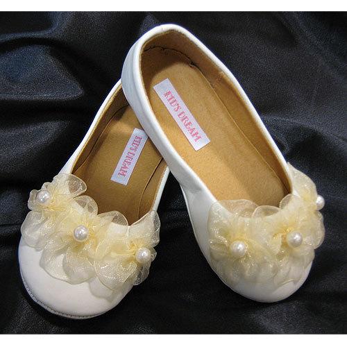 Modern wedding flowers flower girl for Girls dress shoes for wedding