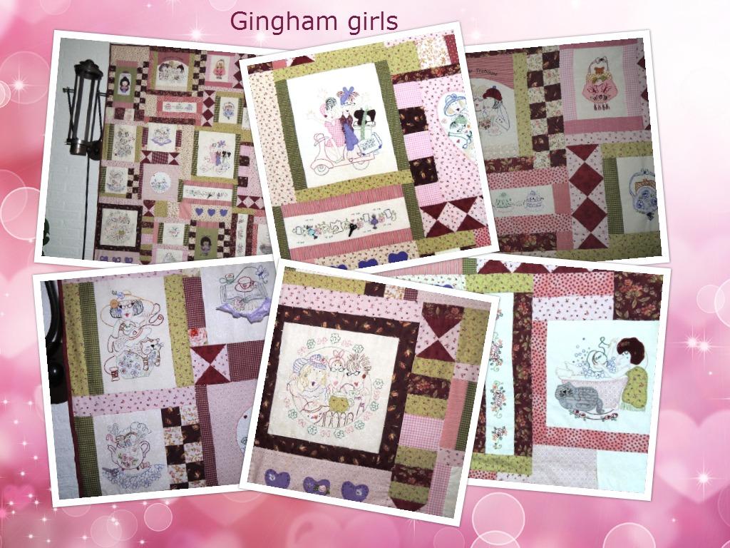 foto's van mijn quilts