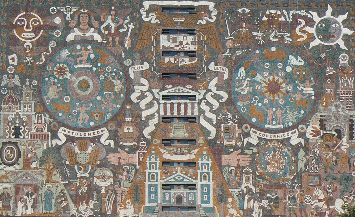 Muralismo mexicano juan o gorman 1era parte for El mural de mosaicos