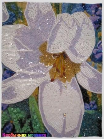 Мозаика из бисера на клею 36