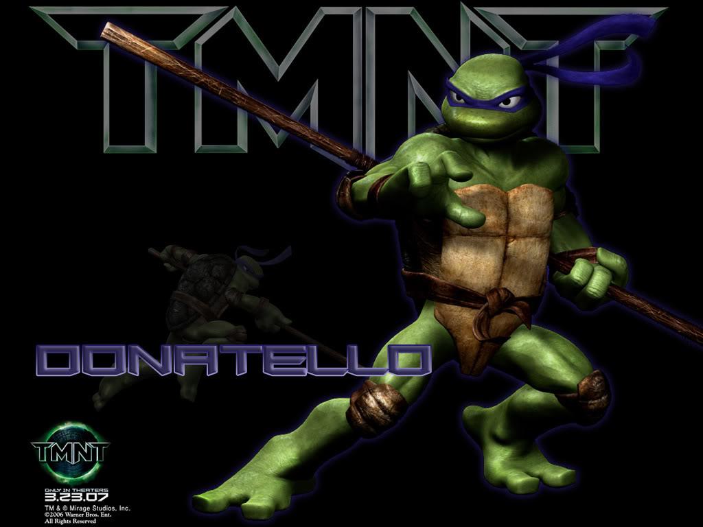 CUBEECRAFT TEMPLATES PAPERCRAFT TMNT Donatello Cubeecraft