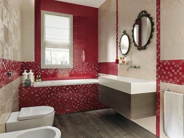 10 صور تصاميم حمامات عصرية   ديكورات حمامات كبيرة و ضيقة   الوان و نقوش حوائط حمامات مودرت