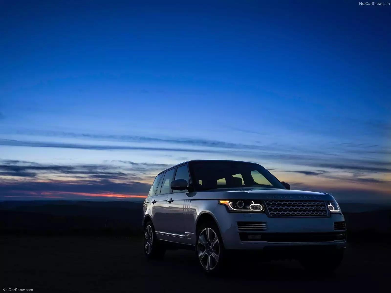 Hình ảnh xe ô tô Land Rover Range Rover Hybrid 2015 & nội ngoại thất