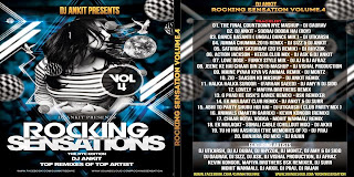 DJ ANKIT - ROCKING SENSATION VOL.04 (THE 2015 NEW YEAR EDITION)