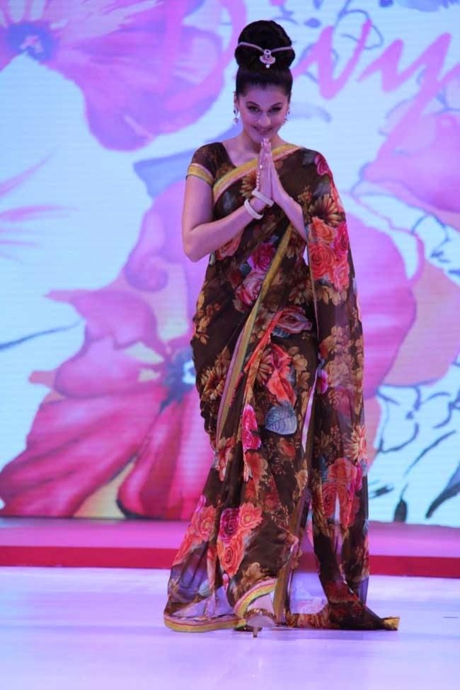 Actress Taapsee Pannu At Surat Dreams Fashion Thrills