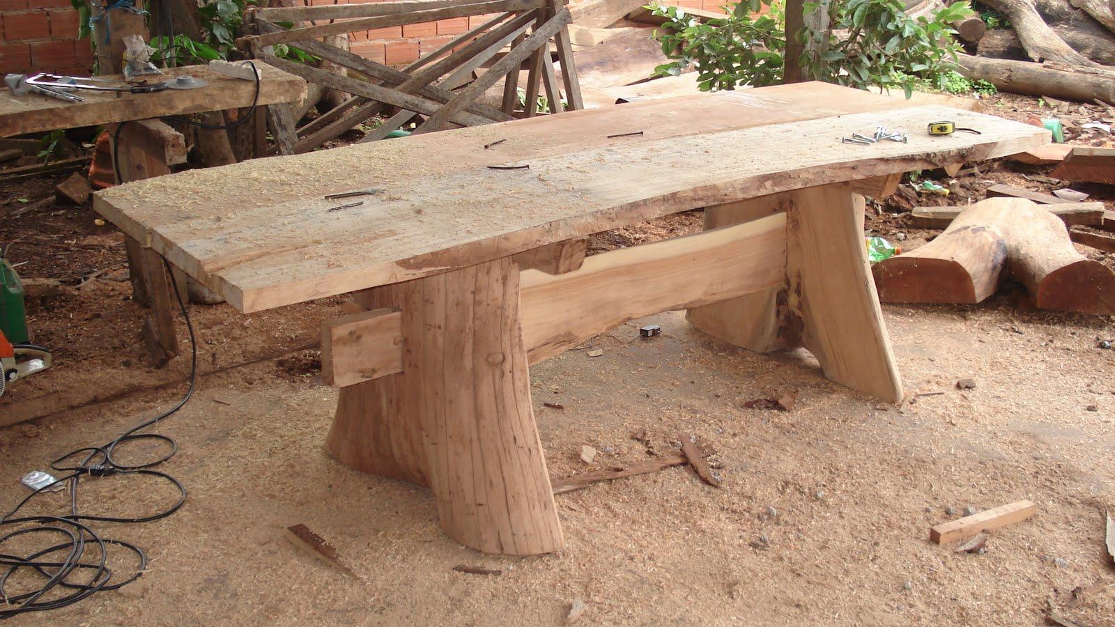 Alvino x artesanato mesas r sticas for Mesas para bar rusticas
