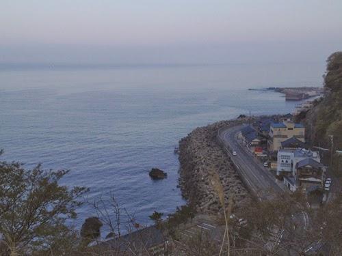 越前海岸の朝
