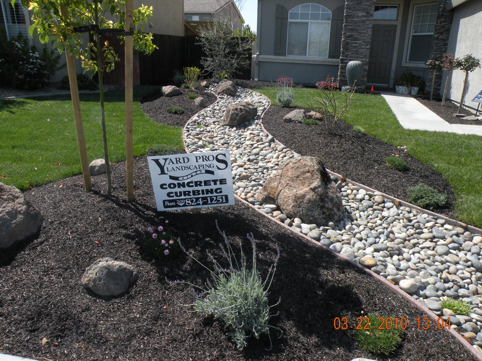 Landscaping Rocks Manteca Ca : Yard pros landscaping manteca ca