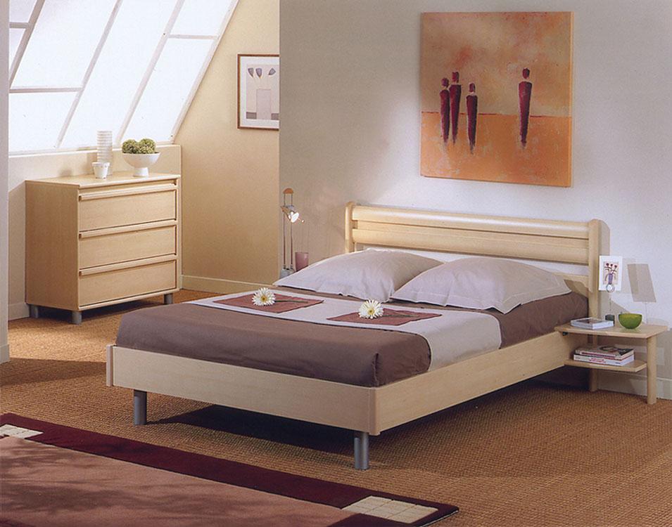Art d co chambre a coucher leclerc for Photo chambre a coucher