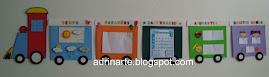 Trem cartazes(cada cartaz mede:24X29cm)