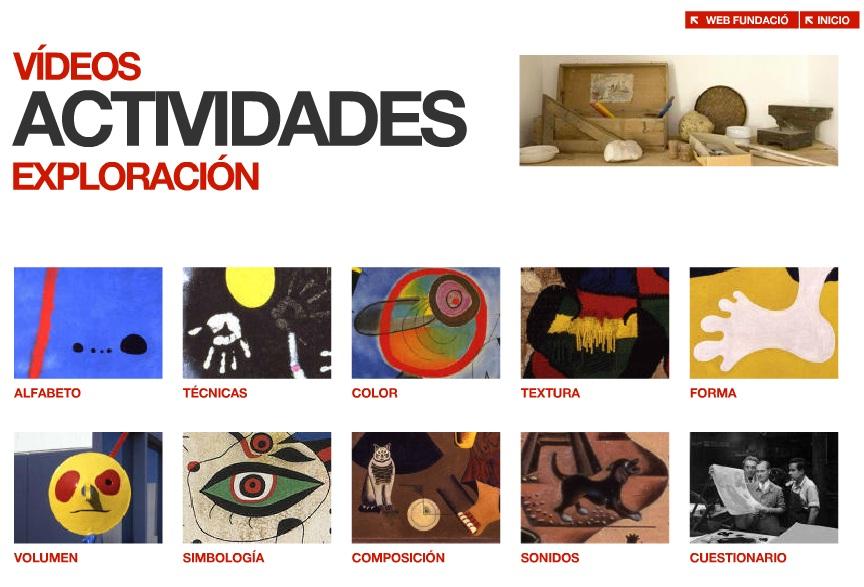 JUEGOS Fundación Joan Miró