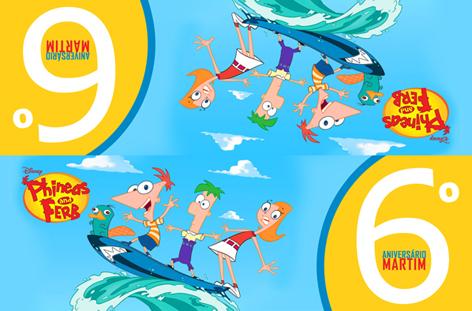 Phineas E Ferb   Convite Martim