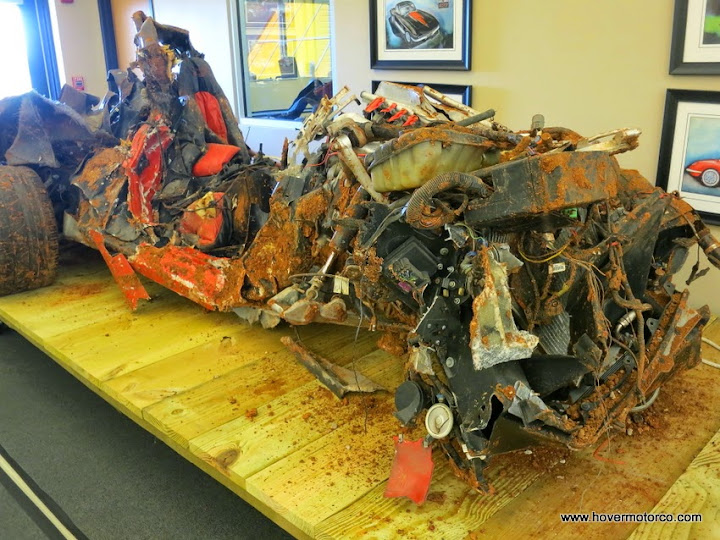 BLOG: Corvettes at museum: What's left to restore?