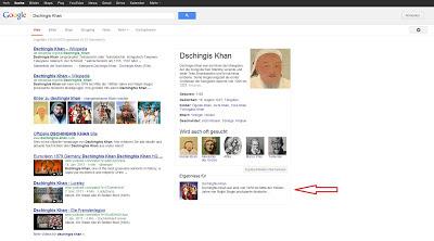 Der Google Knowledge-Graph - Das Richtige finden