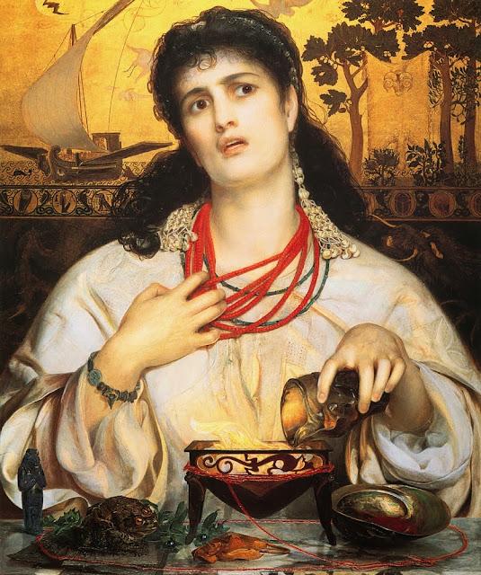 Medea, myth, victorian painting