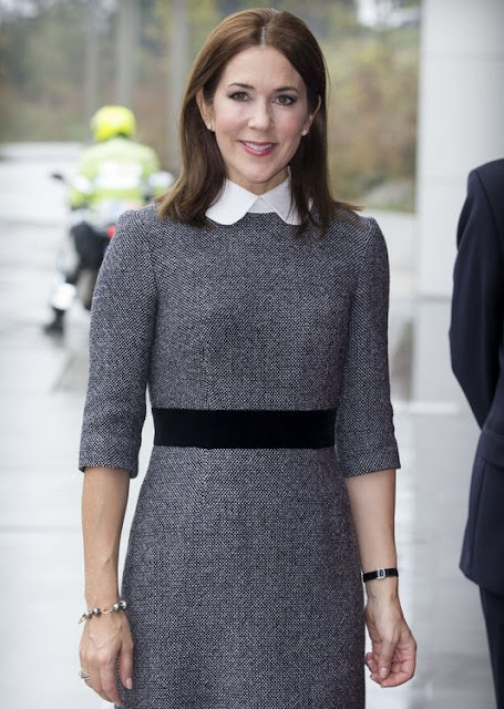 Crown Princess Mary of Denmark visited The International Criminal Court