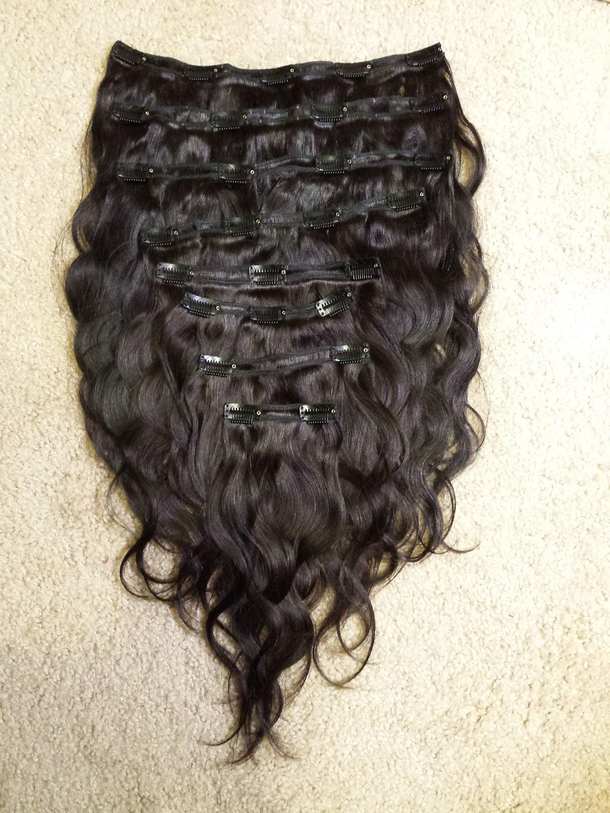 Brazilian Hair Clip On Extensions Nana Clip Hair Wig Clinic