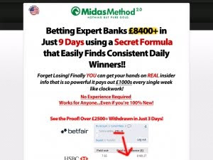 Midas Method 2.0 - Insane Epcs, Rebills And Ultra Low Refunds
