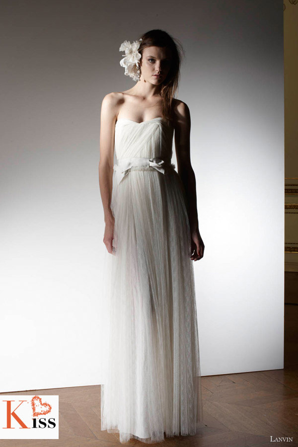 Lanvin Blanche Spring 2013 Wedding Dresses