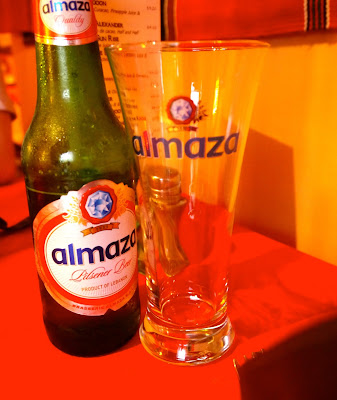 Almaza Beer at Mina, Cathays, Cardiif
