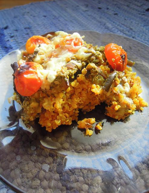 eggplant quinoa recipe